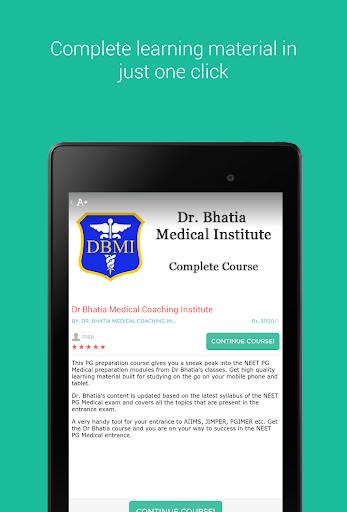 Dr Bhatia PG Medical Course screenshot 9