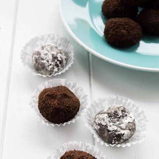 Chocolate Fudge Rum Balls.