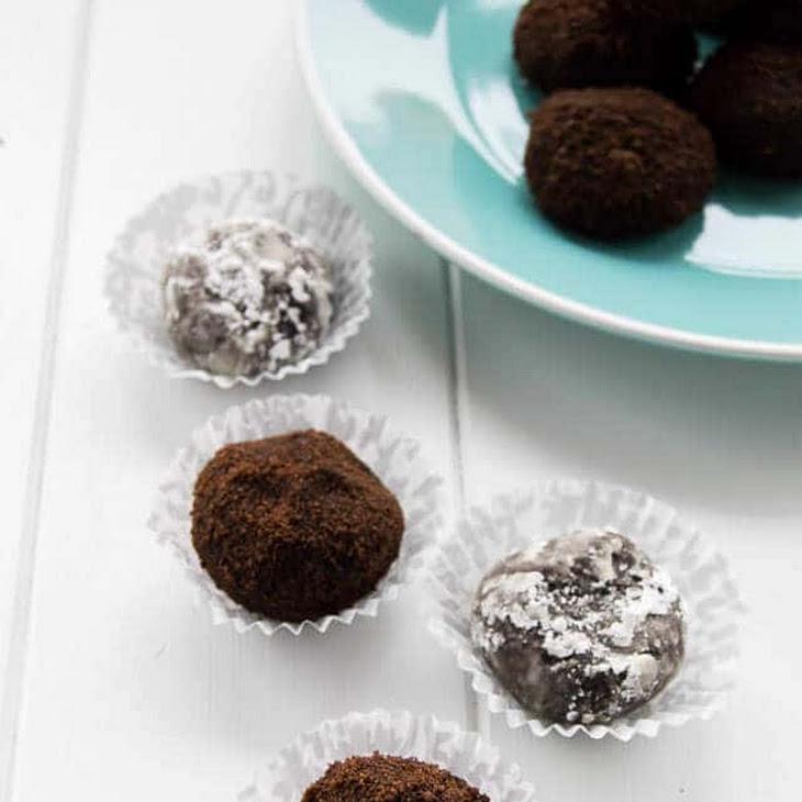 Chocolate Fudge Rum Balls