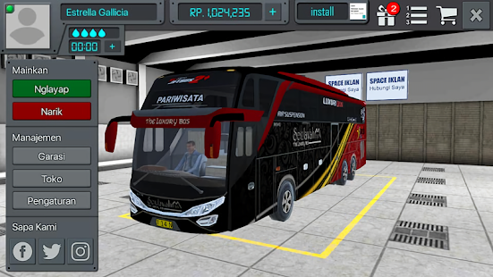 livery Bus Simulator Indonesia - náhled