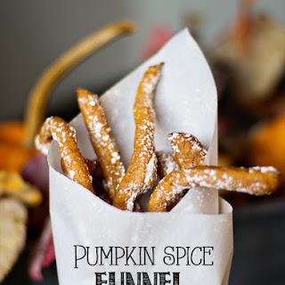 Pumpkin Spice Funnel Fries