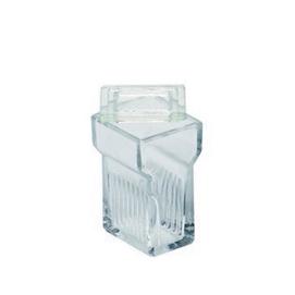 Färgningsställ i glas