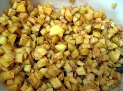 To make the filling, add the apples, sugar, lemon juice, salt, cinnamon, flour and...