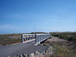 Photo: Ugly new bridge to Limantour Beach