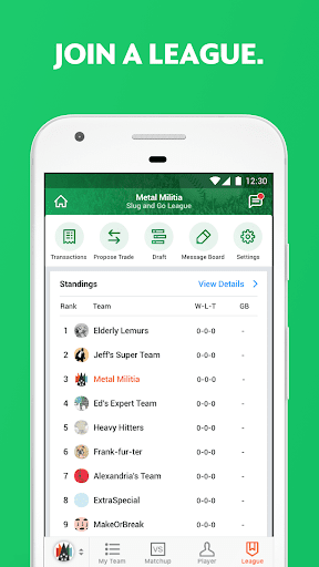 Yahoo Fantasy Sports - #1 Rated Fantasy App app (apk) free download for Android/PC/Windows screenshot