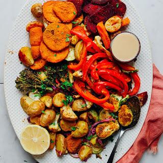 Oil-Free Roasted Vegetables.