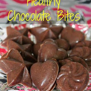 Healthy Chocolate Bites.