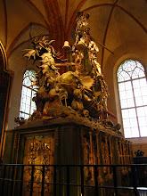 Photo: Medinis Šv. Jurgis ir drakonas (1489)