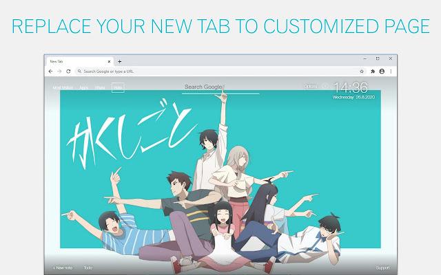 Kakushigoto Wallpaper HD Kakushigoto Anime New Tab