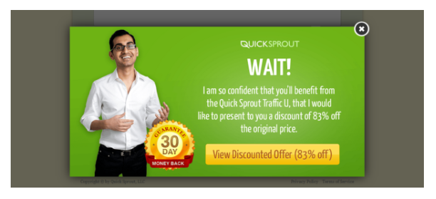 how to reduce cart abandonment rate with exit-intent popup
