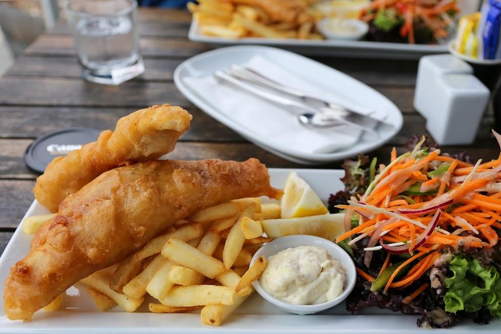 szkockie potrawy, fish and chipss