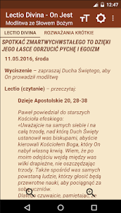 Lectio Divina - On Jest- screenshot thumbnail