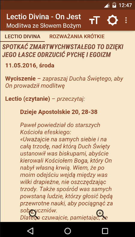 Lectio Divina - On Jest- screenshot