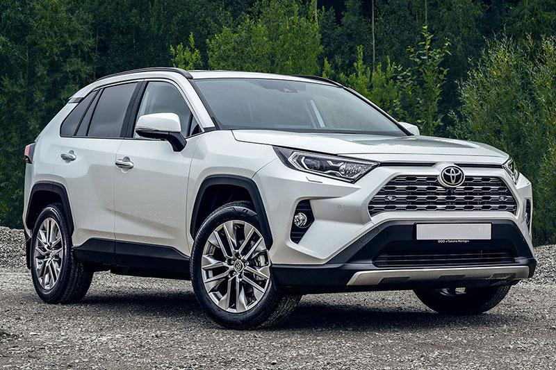Аренда Toyota RAV-4 2019 год в Самаре