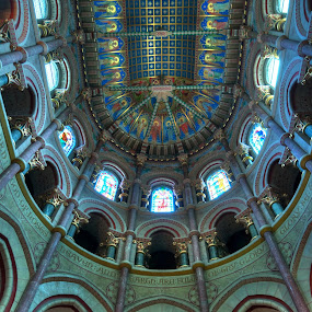 HDR St. Fin Barre's Cathedral in Cork, Ireland by Anna Stephens - Buildings & Architecture Other Interior ( ireland, st fin barre, cork, cathedral )