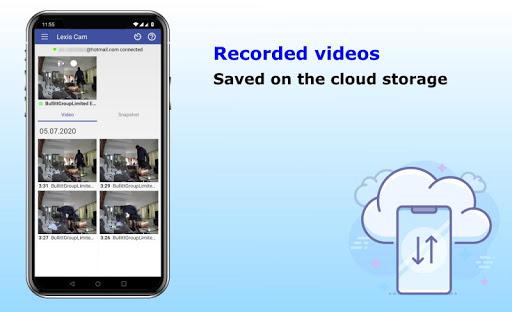 Security camera for smartphones, Lexis Cam Apk 2