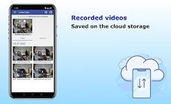screenshot of Security camera for smartphones, Lexis Cam