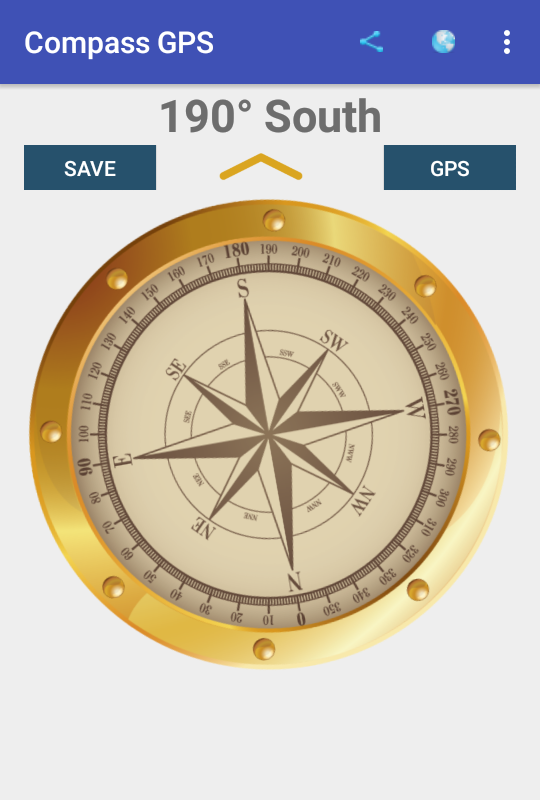 Compass GPS- screenshot