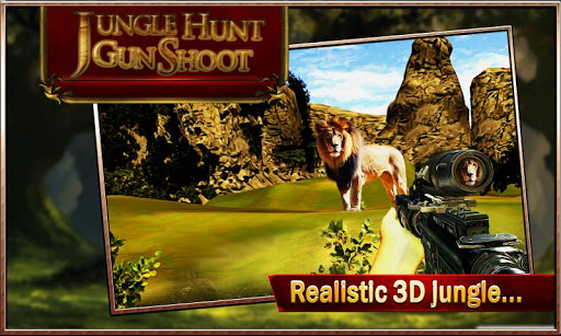 Jungle Hunt Gun Shoot