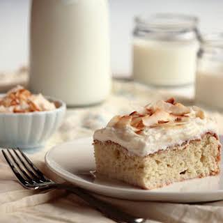 3 Milk Coconut Cake.