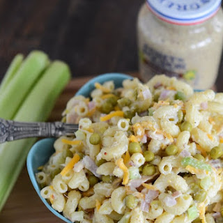 Tuna Pasta Salad With Peppers And Mayonnaise Recipes.