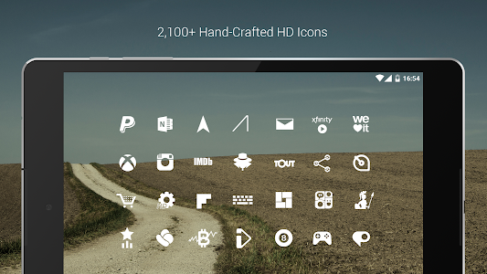 Flight Lite - Minimalist Icons screenshot 14