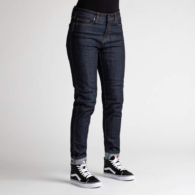 Broger California Jeans Dame (raw navy)