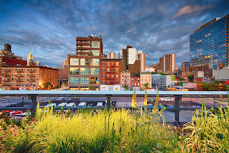 Photo: Time Stood Still  This is from last night's sunset on the high line in New York City- We've had some crazy weather the past week with the days alternating between torrential downpours and beautiful blue skies, but it's made for some pretty spectacular sunsets and wonderful clouds!  #nyc  #newyork  #highline  #sunset  #skyline