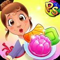 Jelly Paradise: Match & Serve icon