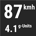 GPS Speedometer, Accelerometer, G-Force meter icon