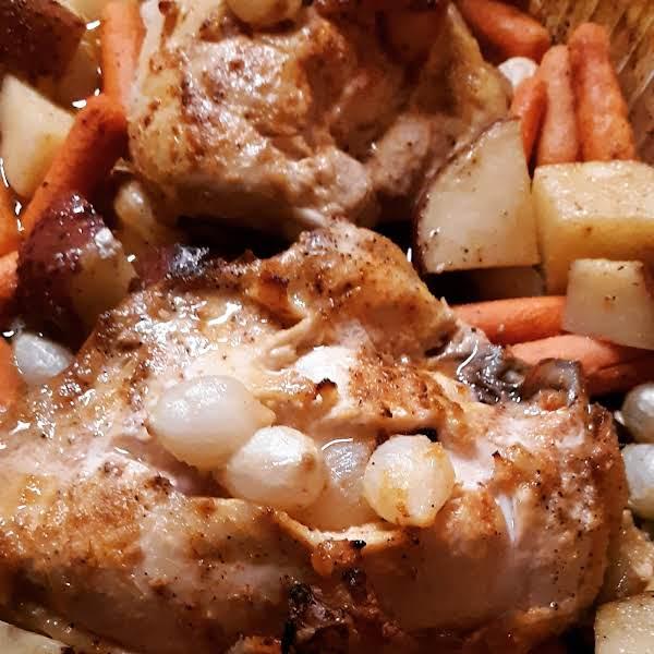 Delicious Baked Chicken W/ Veggies