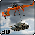 Army Helicopter Aerial Crane icon
