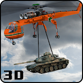 Army Helicopter Aerial Crane: City Flying Pilot