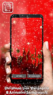 Tapety Na Mobil Vánoční Animované Pozadí Aplikace - náhled