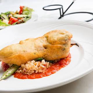 Chicken Chile Relleno.