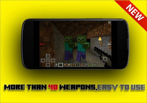 GUNS Mod for mcpe for PC