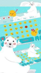 Little Bear Keyboard - náhled