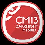 CM13 Theme DarkNight Hybrid v2.1