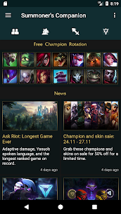 Summoner's Companion for LoL Apk 1
