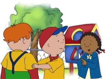 Caillou, the Police Officer