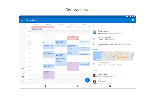 Microsoft Outlook: Organize Your Email & Calendar 4.1.86 screenshots 10