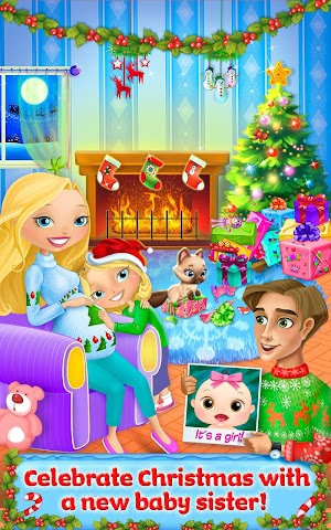 android Meine Schwester Weihnachtsbaby Screenshot 4