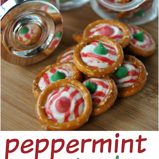 Peppermint Pretzel Candy.