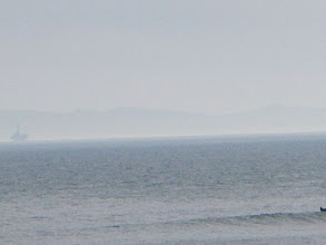 Photo: View of Channel Islands from the Ventura Promenade
