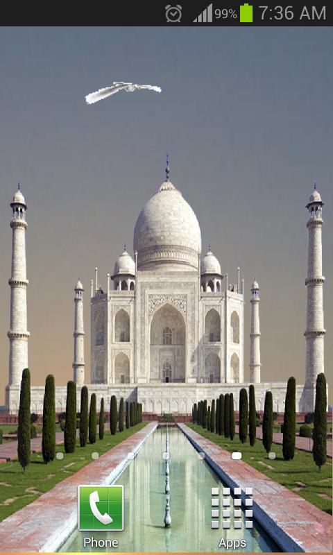 Taj Mahal Live Wallpaper Beta Apps On Google Play