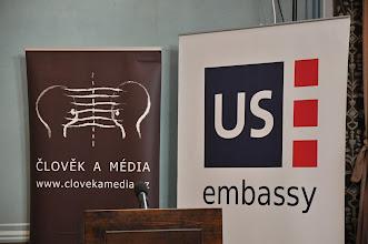 Photo: Konference probíhala v prostorách Amerického centra.