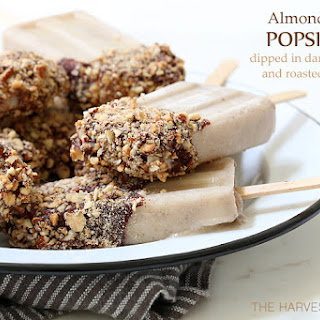 Almond Milk Popsicles.