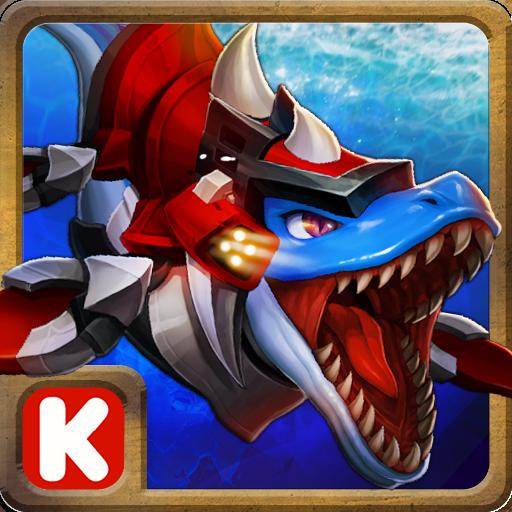 ダイノボット:モササウルス恐竜ゲーム 休閒 App LOGO-硬是要APP