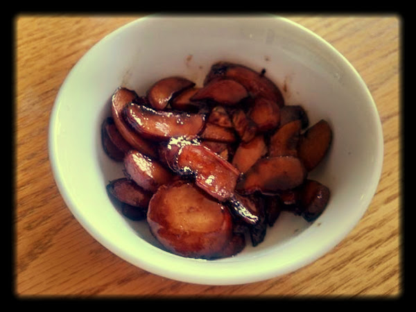 Sherry Glazed Sauteed Mushrooms Recipe