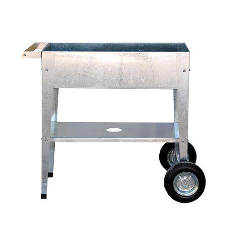 Flyttbar odlingsvagn för odling inne och ute